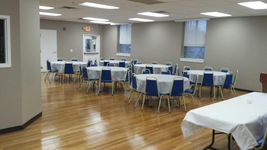Banquet Hall Before Event