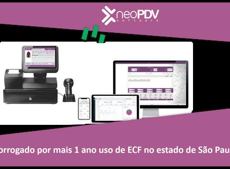 Prorrogado o prazo de utilização do Emissor de Cupom Fiscal – ECF no Estado de São Paulo