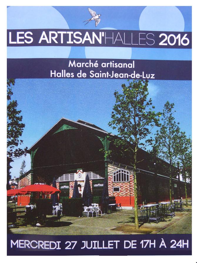 Marché artisanal nocturne à St Jean de Luz