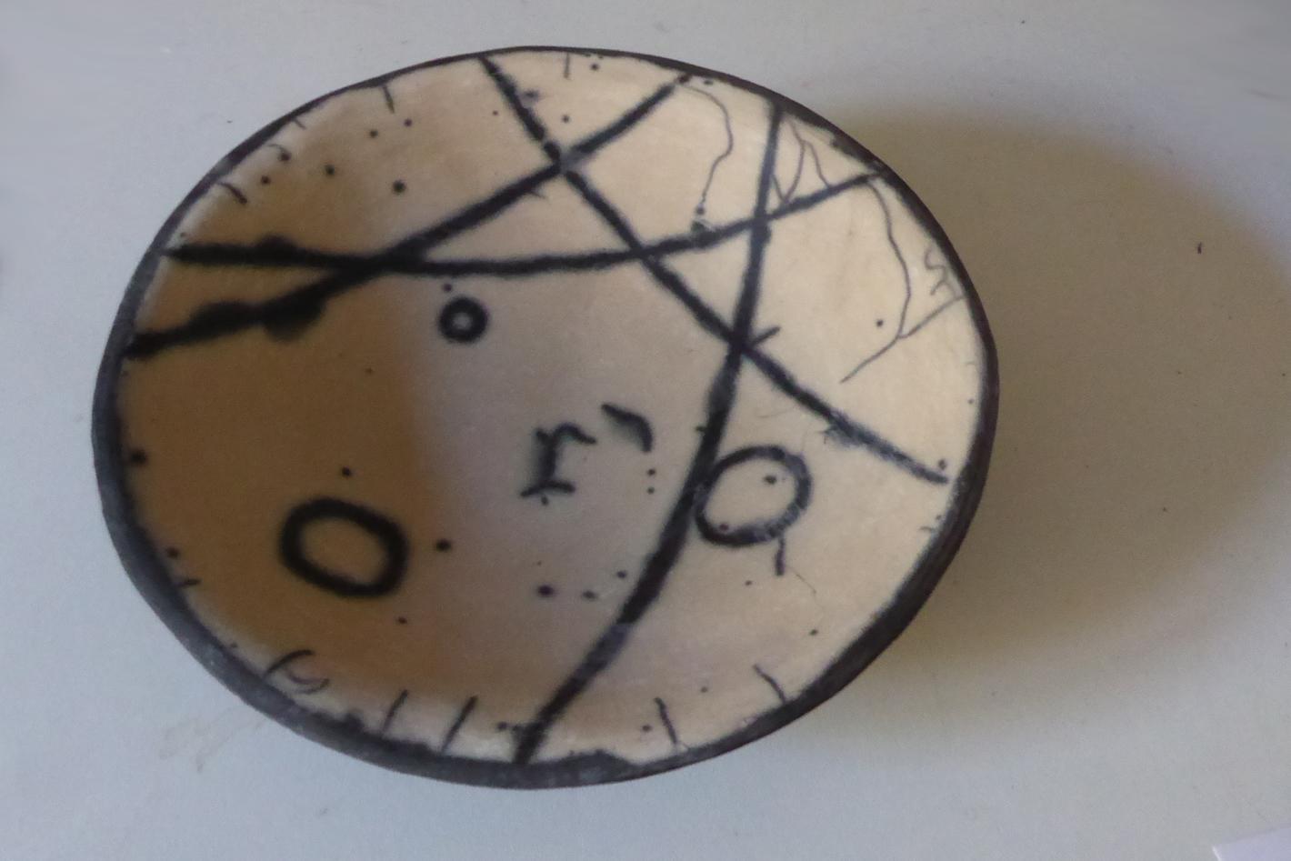 petit plat raku nu