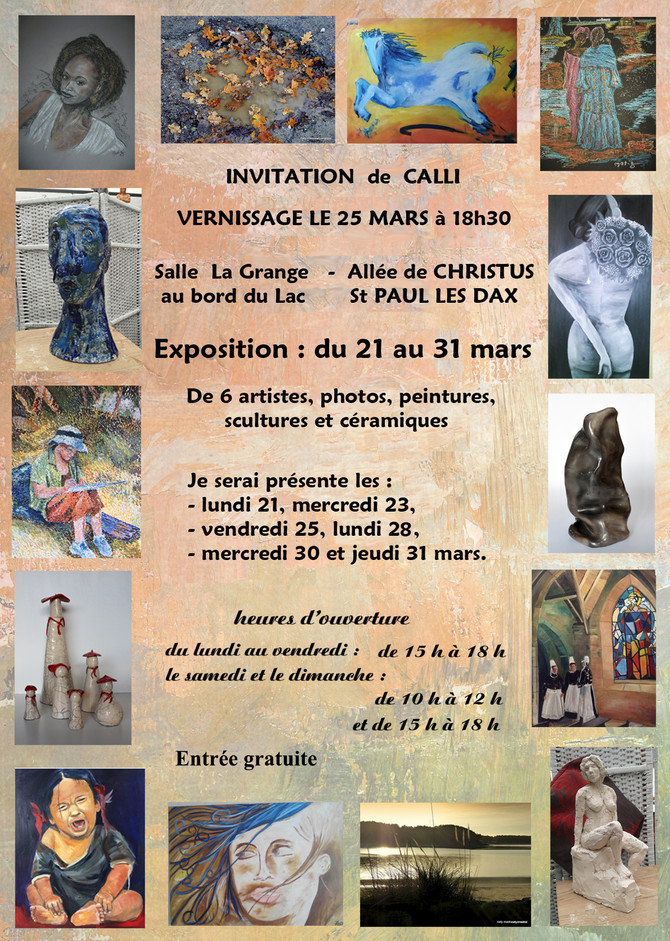 NOUVELLE EXPOSITION à St Paul les Dax