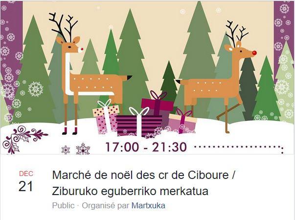 Marché nocturne de Noël de créateurs locaux et Olenzero des écoles le 21 décembre