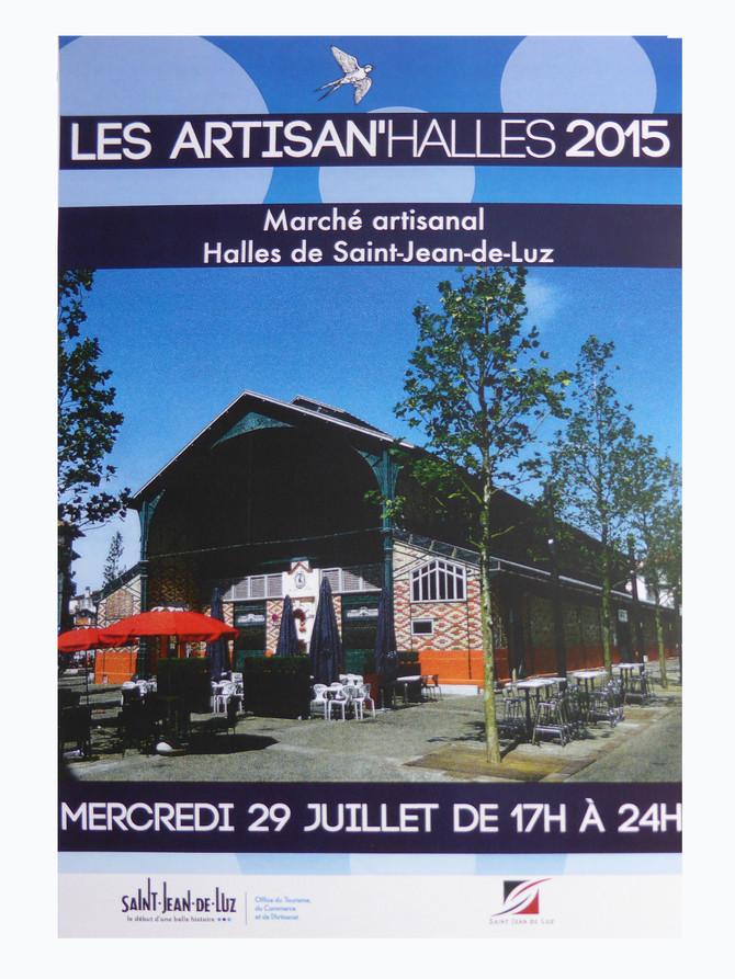mercredi 29 juillet à partir de 16h/17h jusqu'à minuit, je serai au marché nocturne à St Jean de