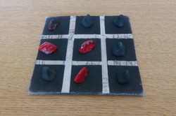 jeu de morpion noir