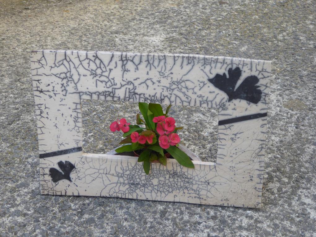 cadre raku pour plante
