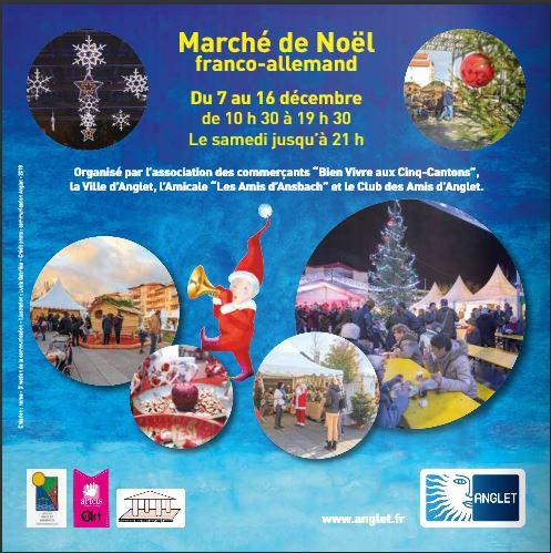 Noël à Anglet Place des 5 Cantons du 7 au 16 décembre