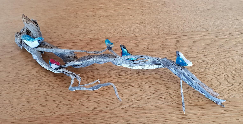 oiseaux sur branche 1