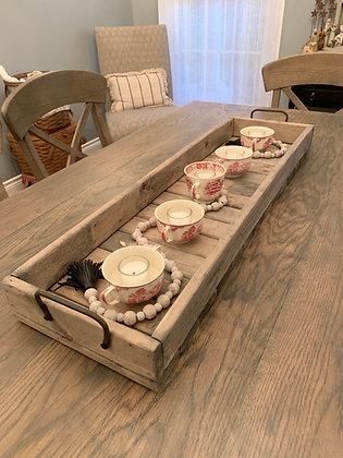 Wood Tray and Home Decor