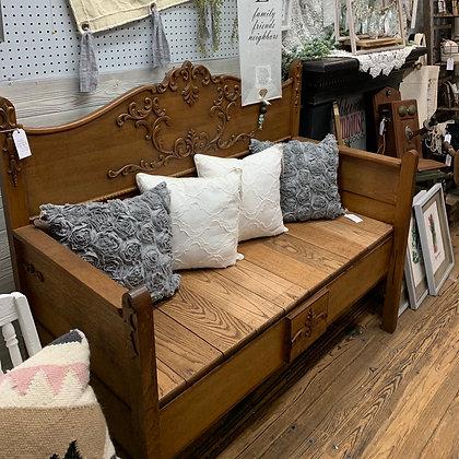 Oak Bed Bench