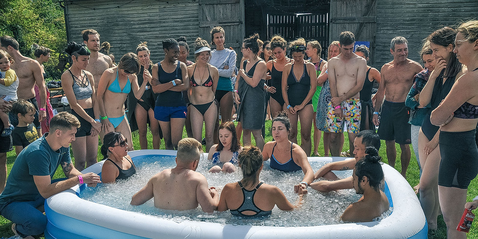 N.ICE Collective supporting Tonny Riddle - Wim Hof Method event