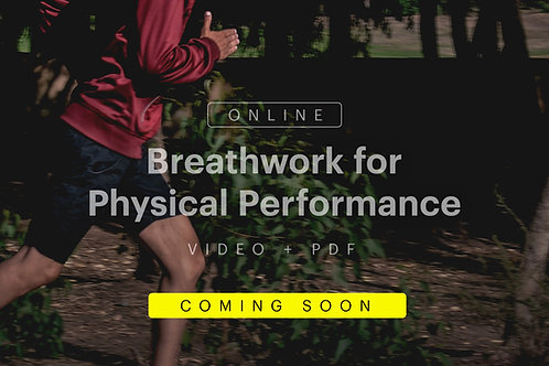 Breathwork for Physical Performance – Coming Soon