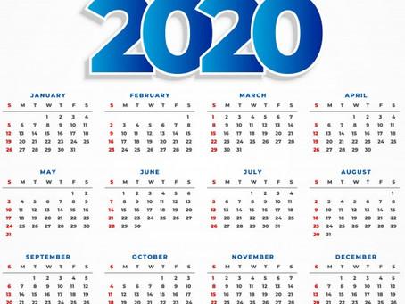 Cronograma de finalización del 2020 (Grados, Clausuras, Seguros y Entrega de Diplomas)