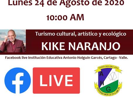 Turismo cultural, artístico y ecológico con: Kike Naranjo