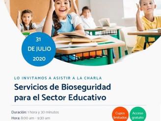 Servicios de Bioseguridad para el sector educativo