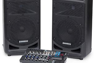set-de-amplificacion-portable-samson-xp8