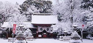 富部神社, 祭文殿, 雪