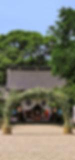 富部神社, 茅の輪くぐり