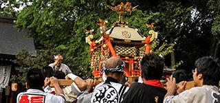 富部神社, 例大祭