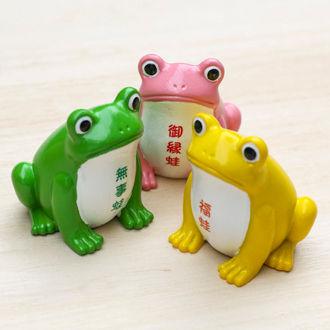 富部神社, 名古屋, カエル, 蛙, おみくじ, かわいい, 縁起,