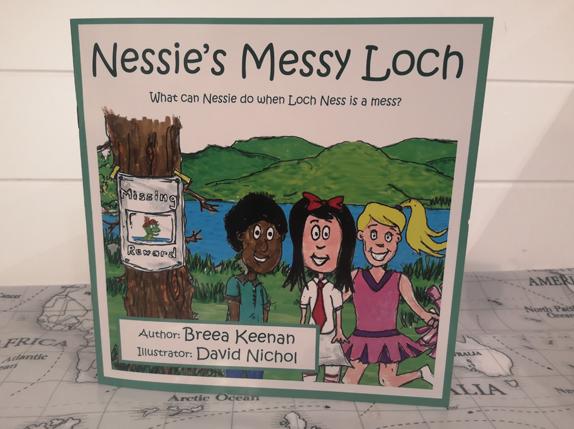 Nessie's Messy Loch - Scottish children's picture book