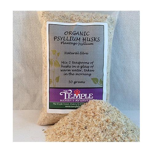 Psyllium Husks (organic), 50 grams