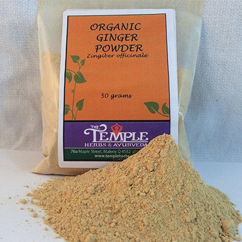Ginger Powder (organic), 50 grams