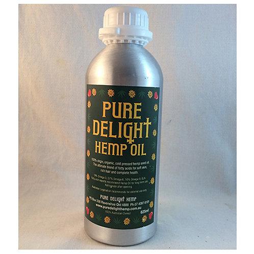 Pure Delight Hemp Oil - 625ml