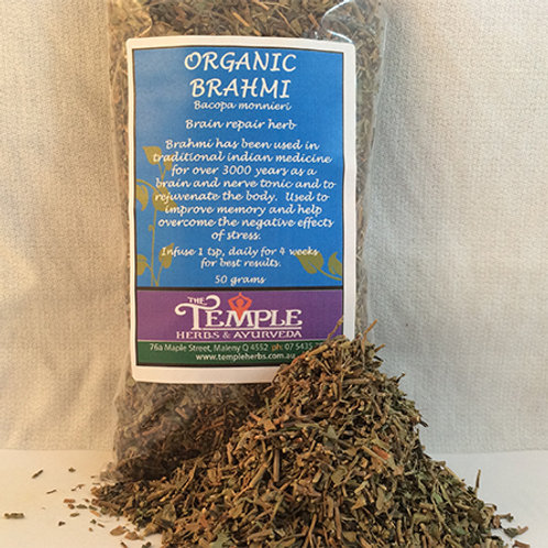Brahmi (organic), 50 grams