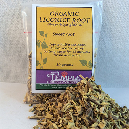 Licorice Root (organic), 30 grams