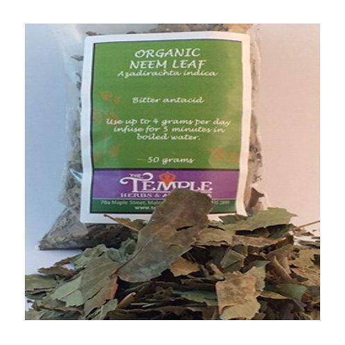 Neem Leaf (organic), 50 grams