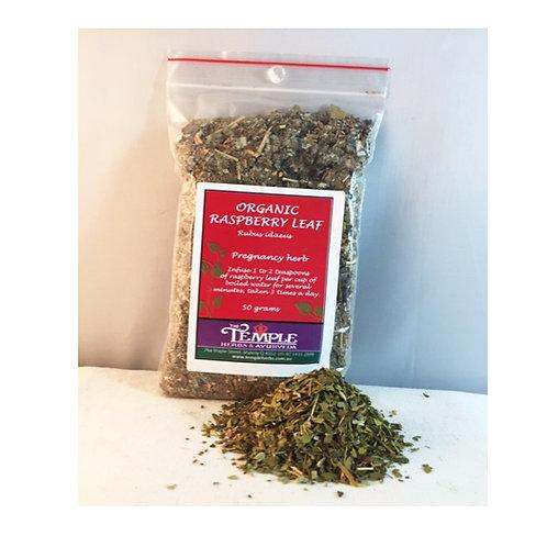 Raspberry Leaf (organic), 50 grams