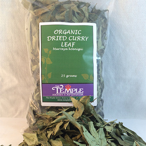 Curry Leaves (organic), 25 grams