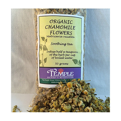 Chamomile Flowers (organic), 50 grams