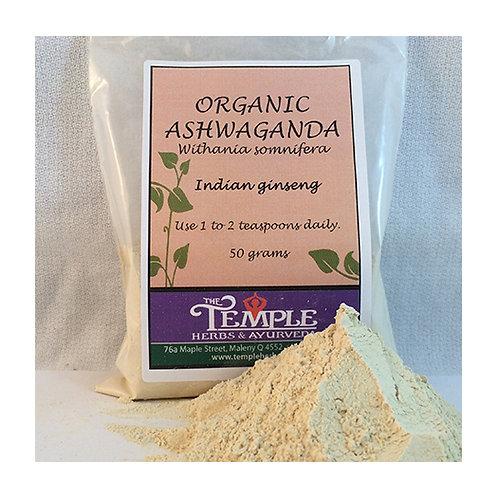 Ashwaganda (organic), 50 gms
