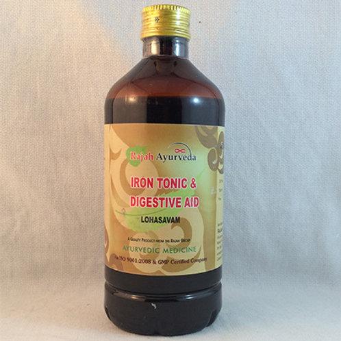 Lohasavam Iron Tonic & Digestive Aid, 450mls