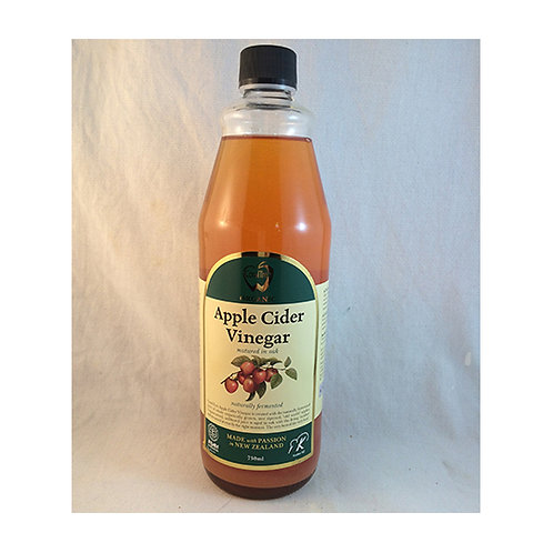 Organic Apple Cidar Vinegar, 500mls