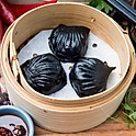 Squid Ink King Prawn Har Gau (3pcs)