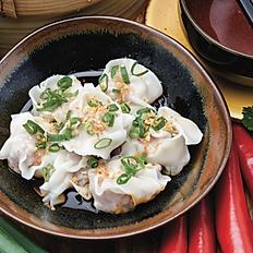 Pork and prawn wontons, spicy sichuan sauce (8pcs)
