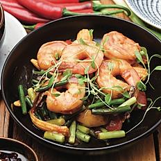 King prawns in Sichuan Sauce (6pcs)