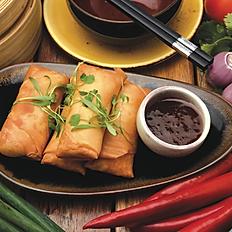Seafood spring rolls (4pcs)