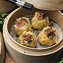 Prawn and chives shumai