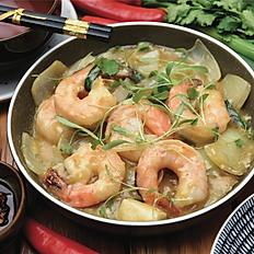 Garlic butter King prawns (6pcs)