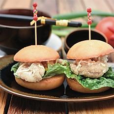 Karaage chicken mini burger (2pcs)