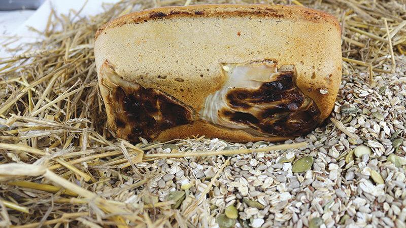 Chleb Żytni na Kapuście - KROJONY