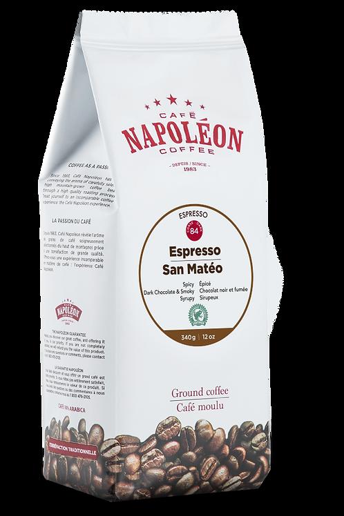 Espresso San-Mateo RainForest Noir; INDICE 84