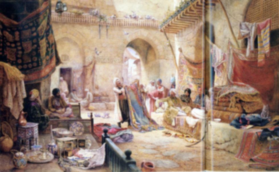 Ottoman Capet Market