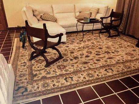 Living Room Ushak Carpet
