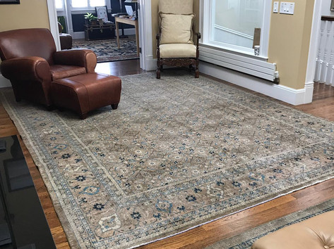 Vintage Turkish Carpet Sinbad