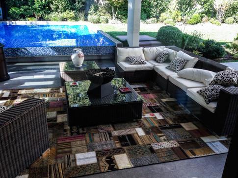 Patchwork Carpet Decoration