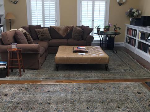 Vintage Turkish Carpet Living Room-Sinbad